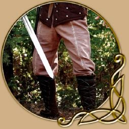 Costume -Brown Cotton Trousers